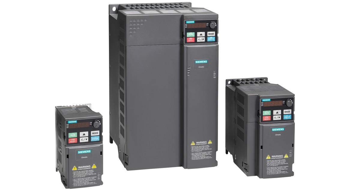 Photo of Siemens VFDs