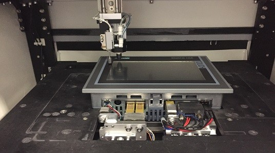 The HMI detection workstation is armed with technologies including data analysis and AI to unlock data mystery, helping lower production costs.