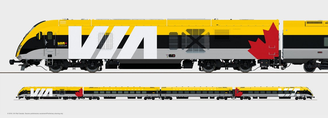 VIA Rail Train Example