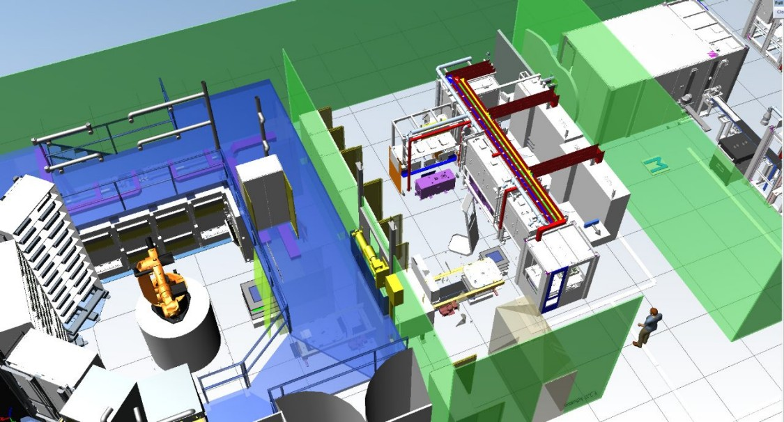 Tecnomatix Plant Simulation allows to model, simulate, explore and optimize logistics systems and their processes