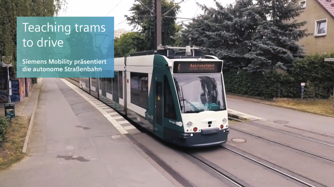 Video: Teaching trams to drive