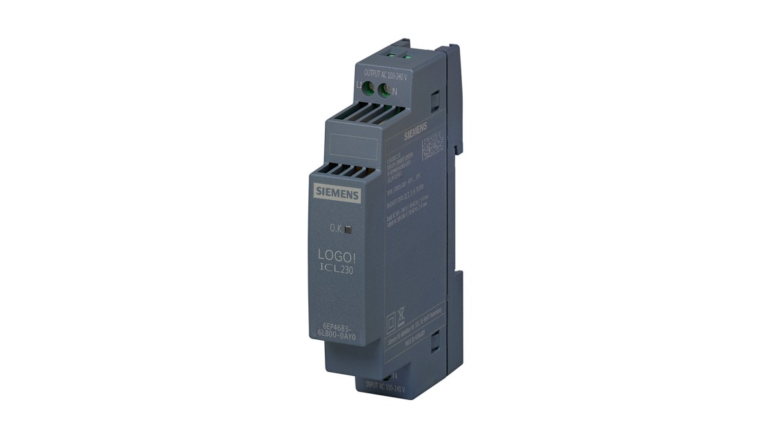 Product image of a SITOP inrush current limiter