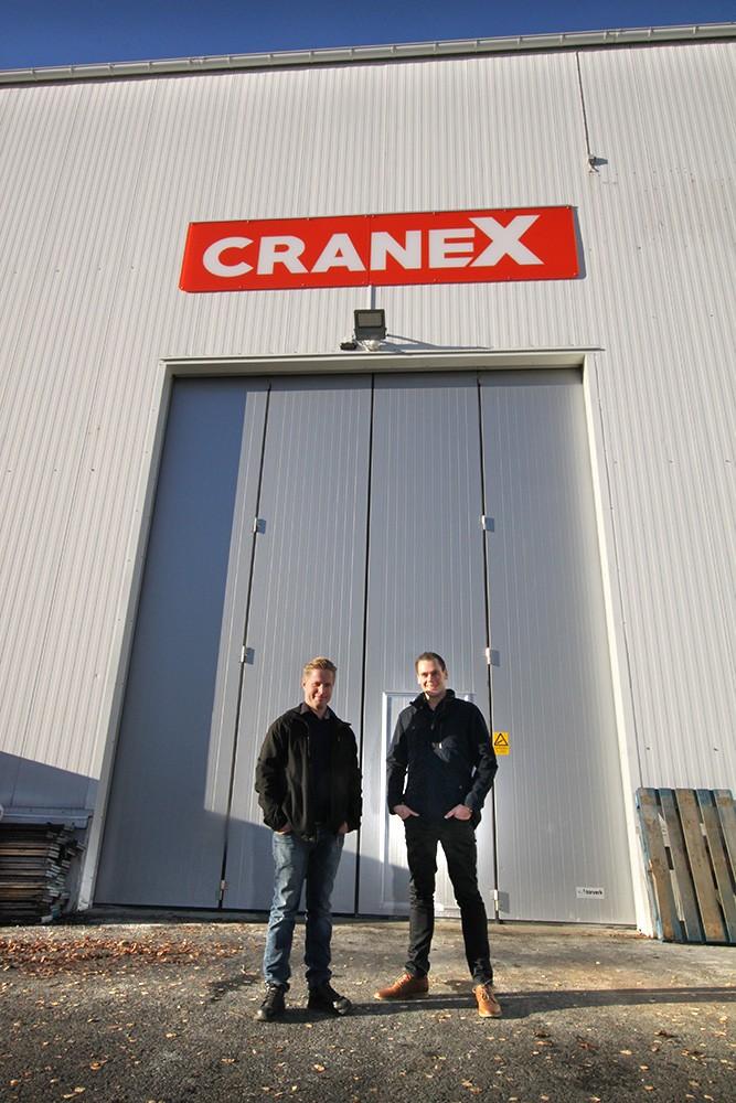 Johan Gustafsson, Cranex, och Nicklas Kårvall, Siemens.