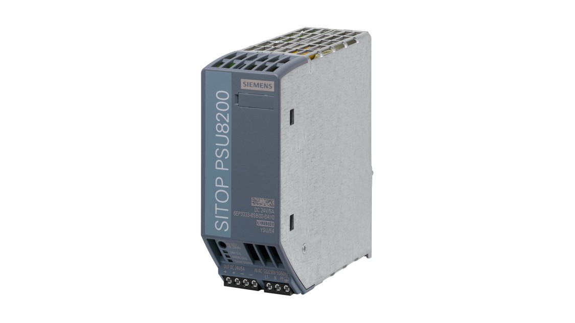 Produktbild SITOP PSU8200, 1-phasig, DC 24 V/5 A
