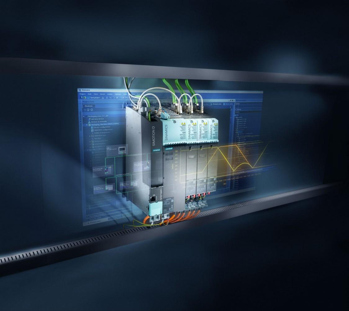 SIMOTION - високопродуктивна масштабована система управління рухом