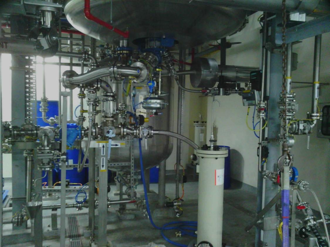 S2 Main Plant ground floor (reactor base)