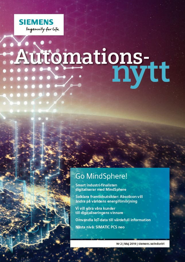 Automationsnytt Nr 2 | Maj 2019