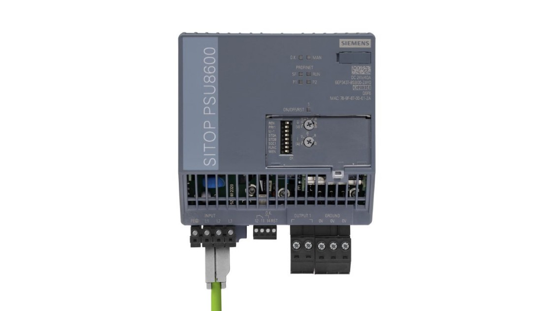 Power supply system 40A, 1x40A