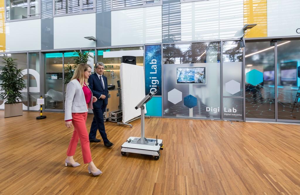 Inauguration digi Lab Wien, Österreich