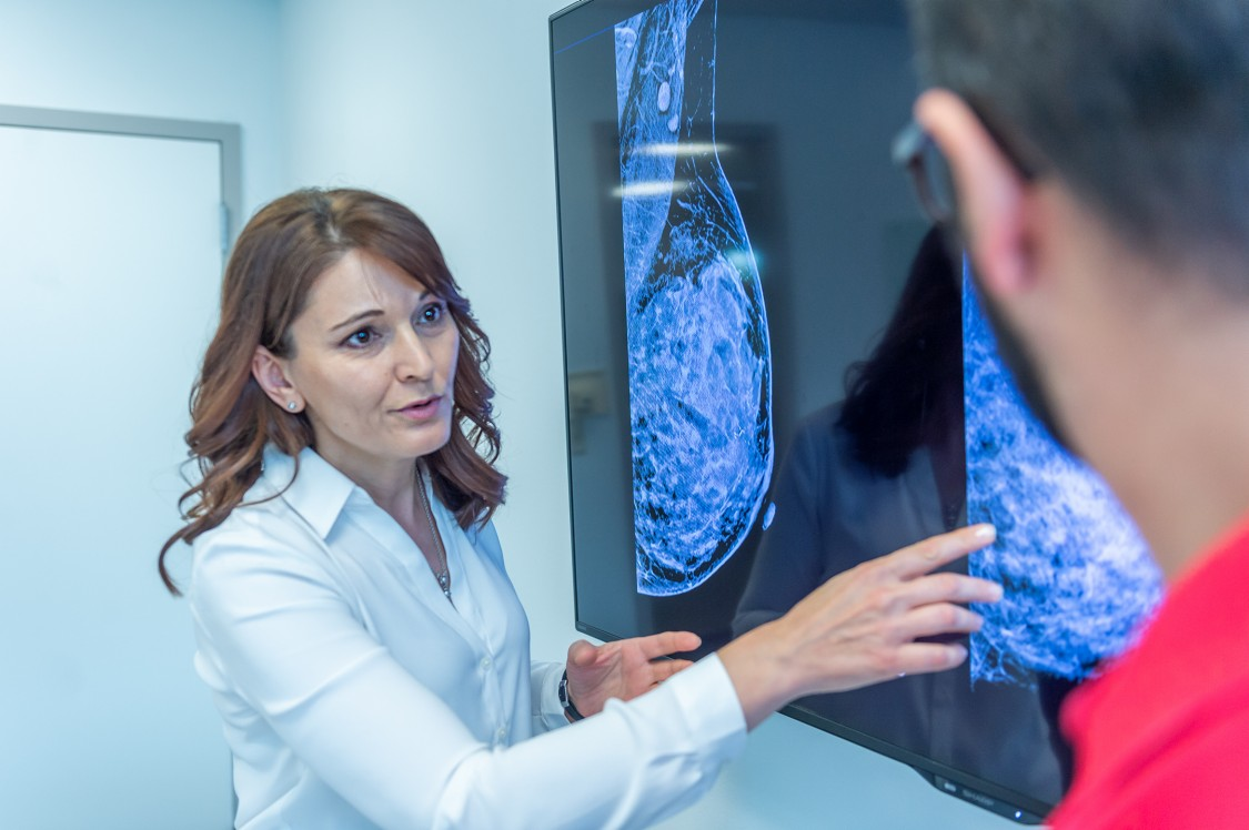 Making breakthroughs in breast-cancer imaging.
