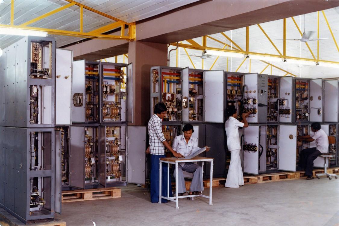 Opened in 1981: Latest technology at Nashik works, undated