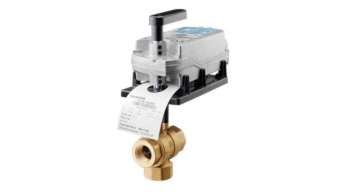 Zone Valves | Valves and actuators | Siemens
