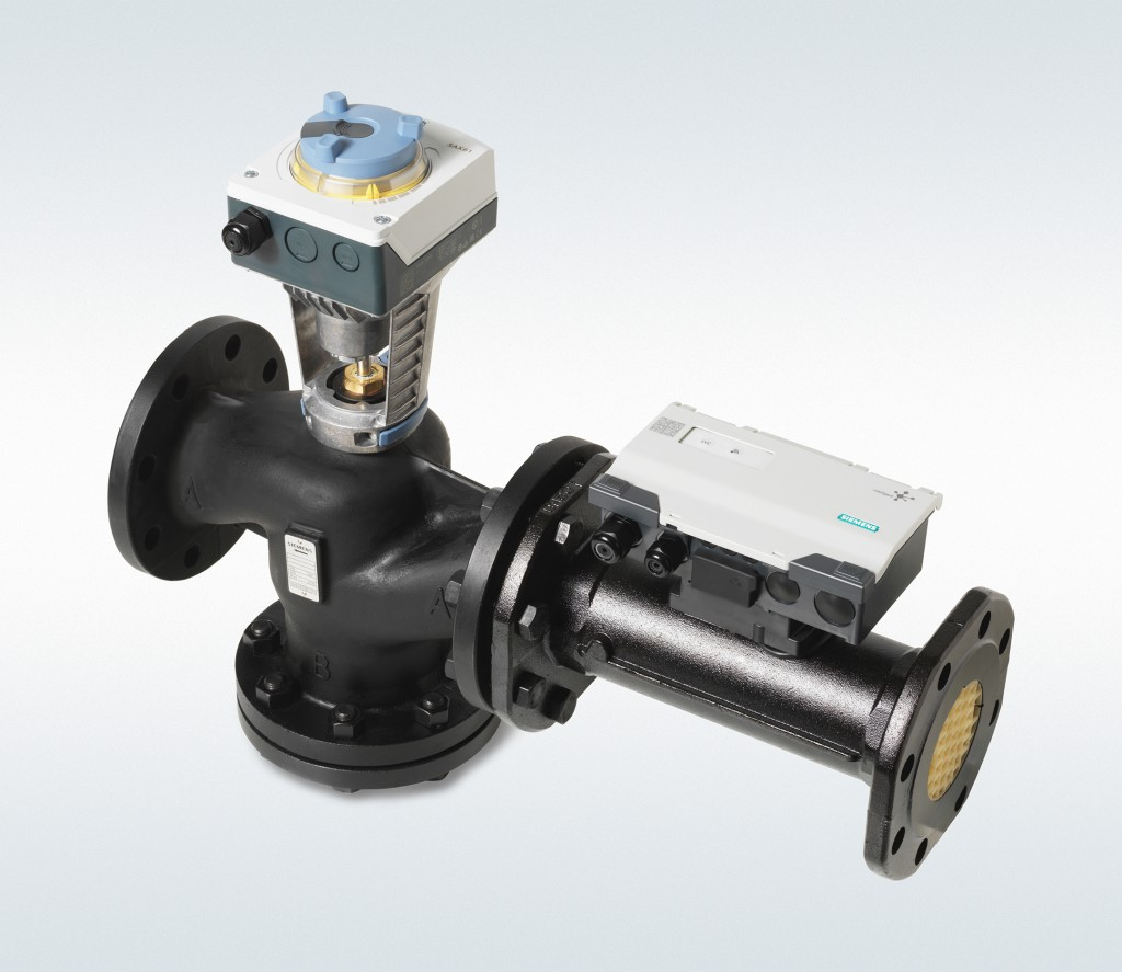 The picture shows a self-optimizing dynamic valve.