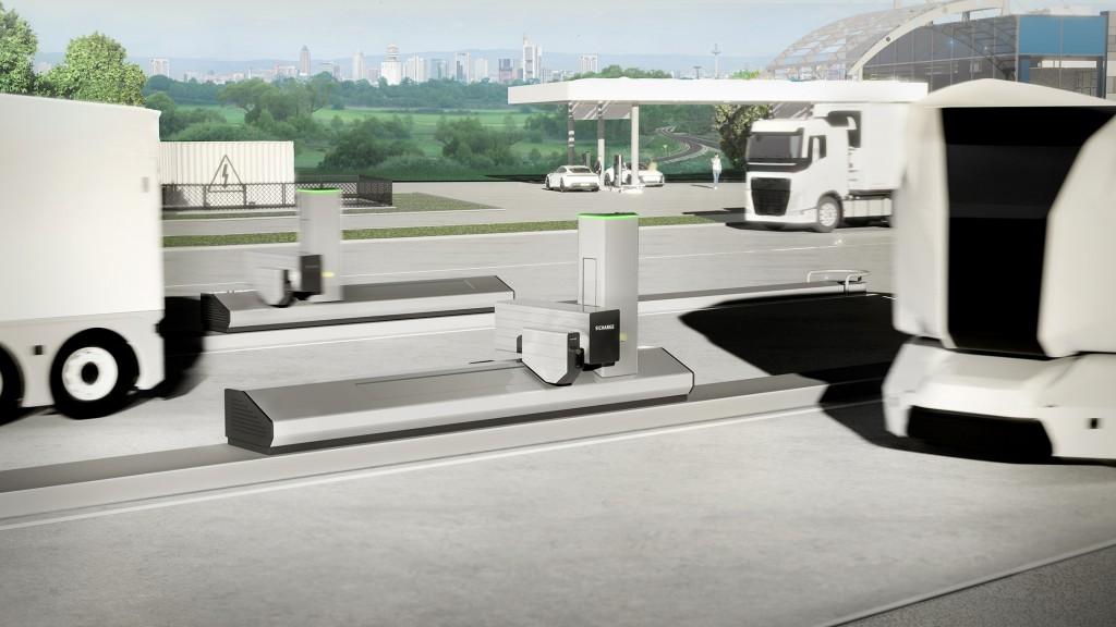 Siemens Autonomous Charging System
