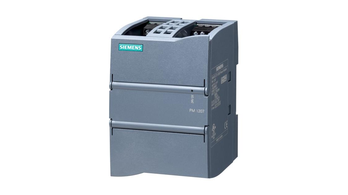 SIMATIC S7-1200向けに設計された、PM 1207、24 V/2.5 AのSITOPの製品画像