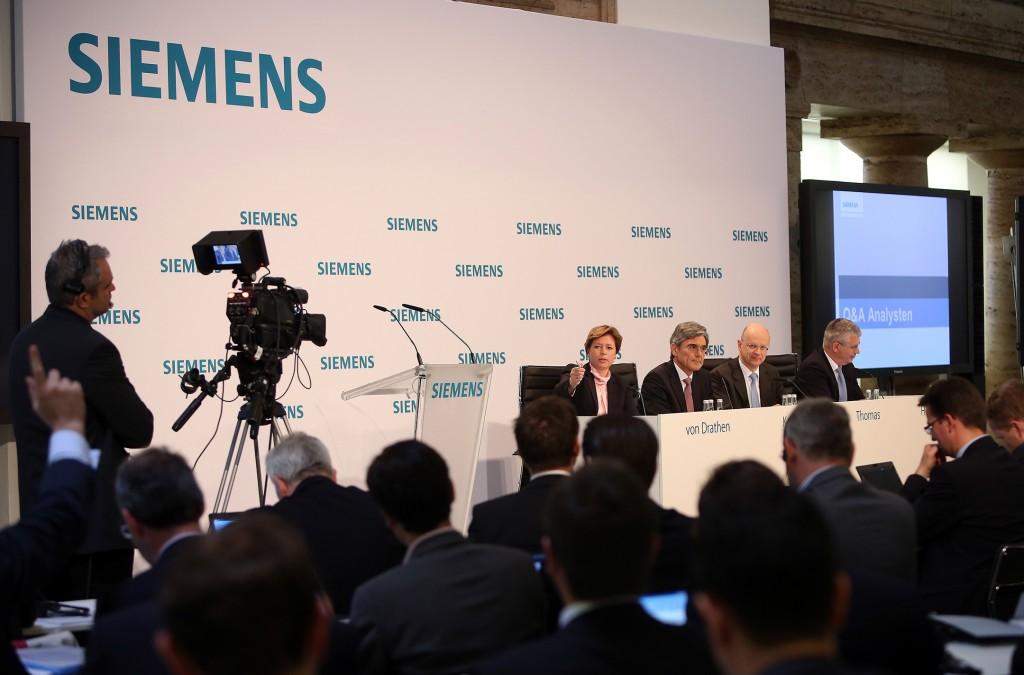 Gemeinsame Halbjahres-Presse- und Analystenkonferenz 2014