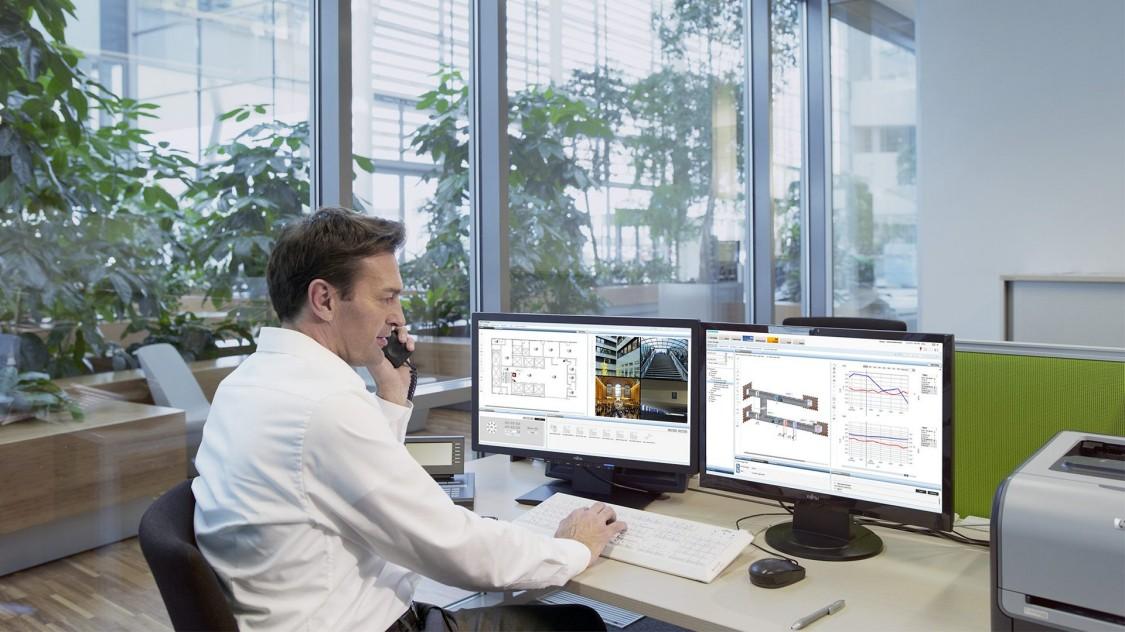 Система управления зданием Desigo CC, 2017 год