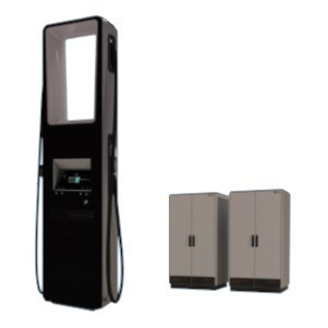 Yunex Traffic HV320 Ultra Rapid Electric Vehicle Charger