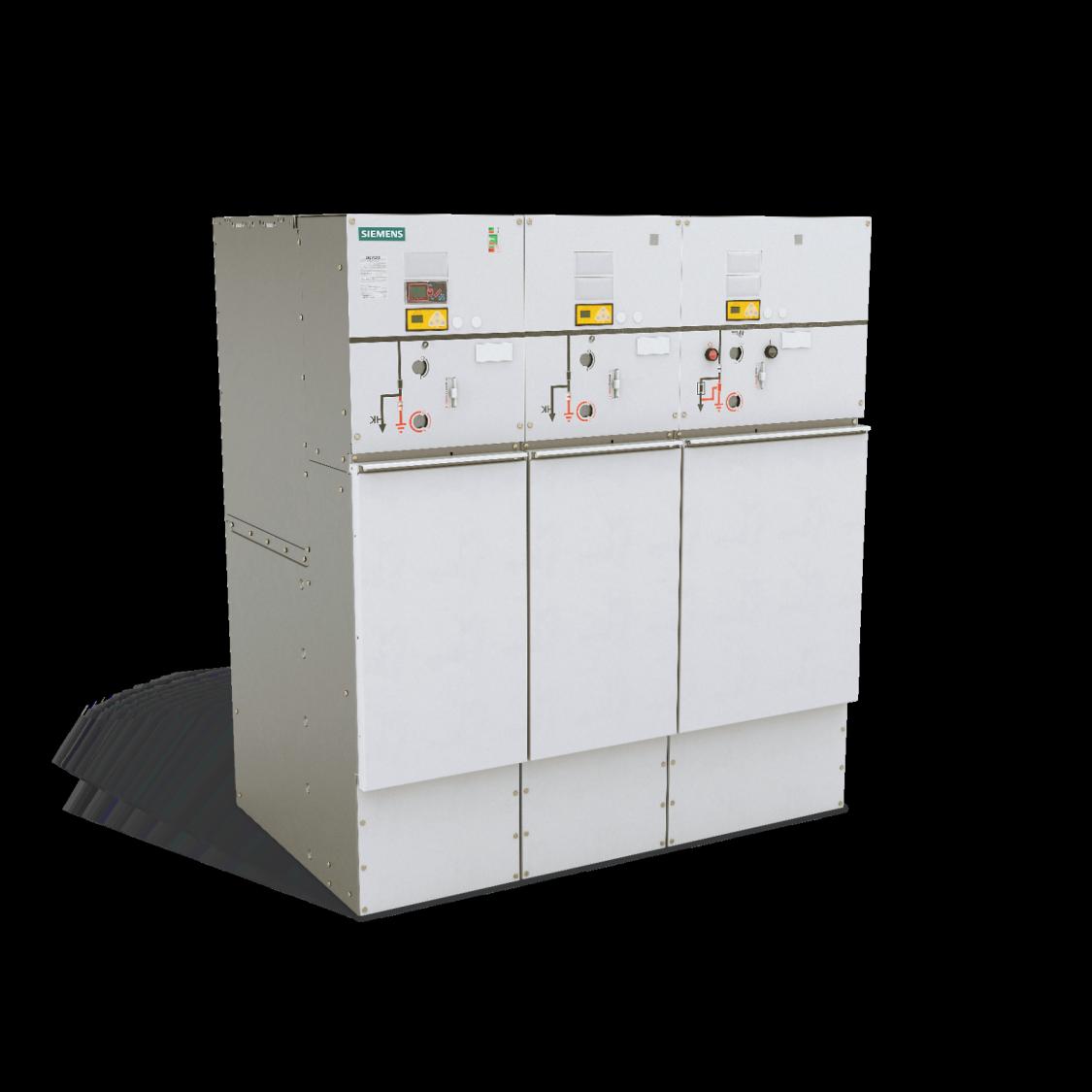 8DJH36 Rozdzielnica średniego napięcia 36 kV w izolacji gazowej