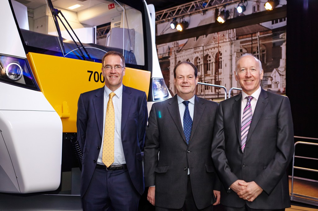 New state-of-the-art London passenger train Desiro City unveiled