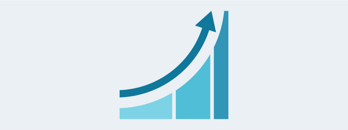 An arrow points upwards to show increasing productivity.