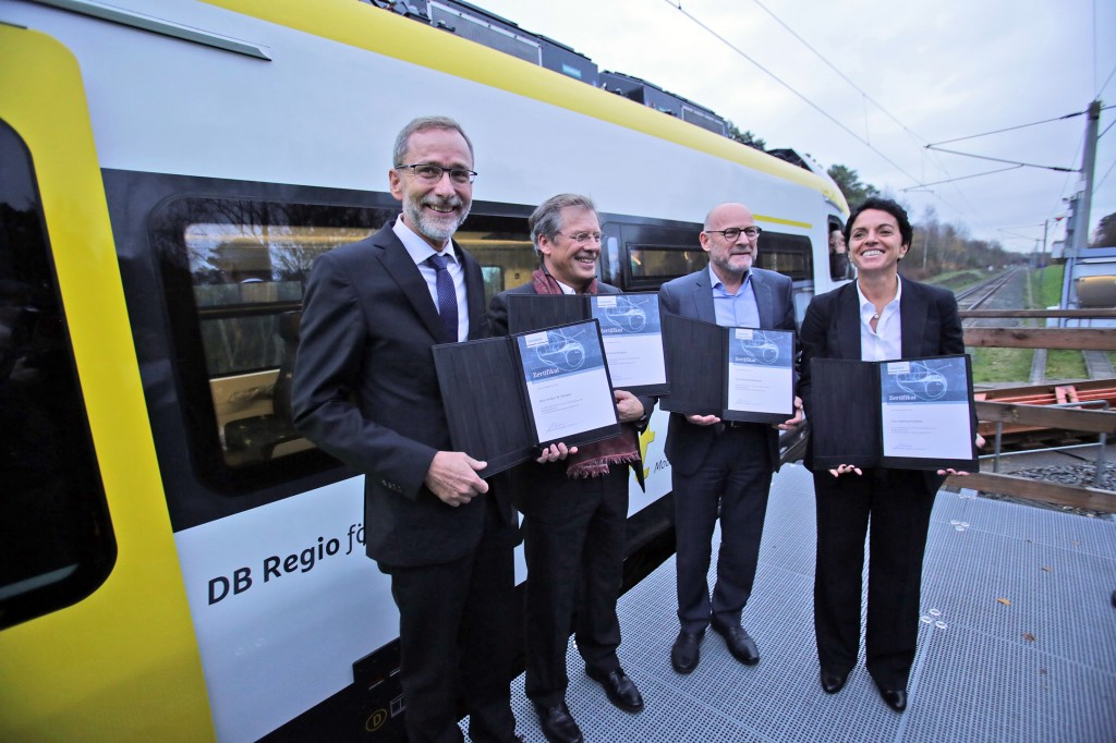 Presentation  of first Mireo train for the Rhine  Valley
