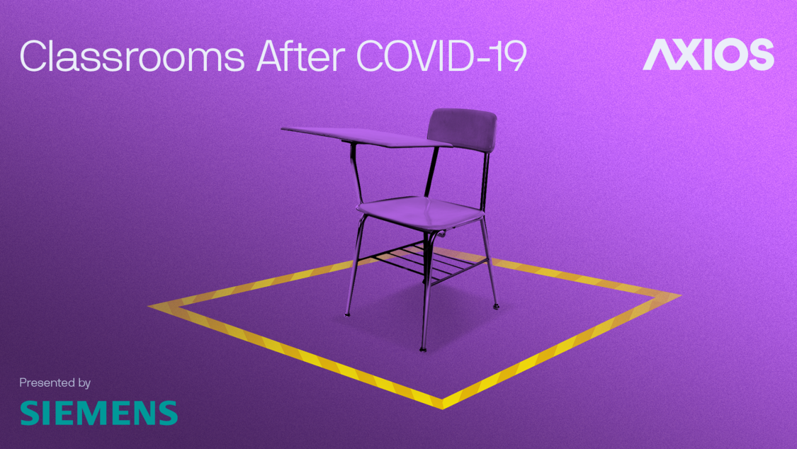 Axios - Classrooms After COVID-19 - sponsored by SIEMENS podcast event image