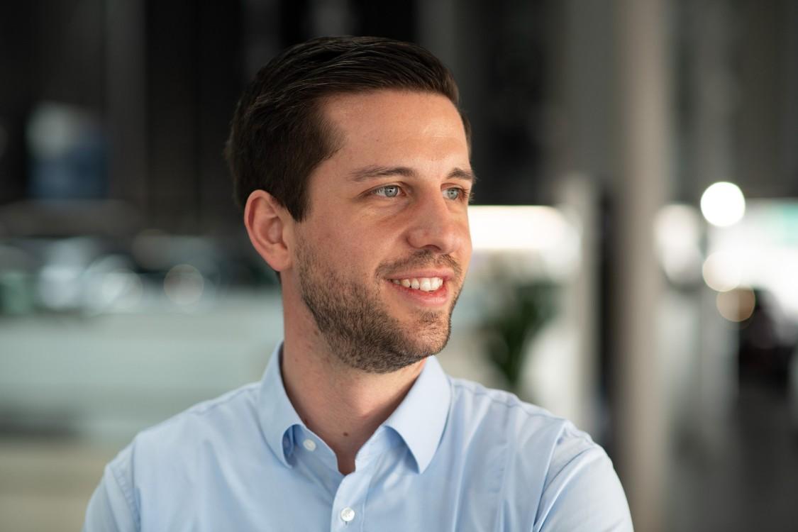 Robin Banse, Spezialist Werkstatt-Informationssysteme im Technischen After Sales der Porsche AG