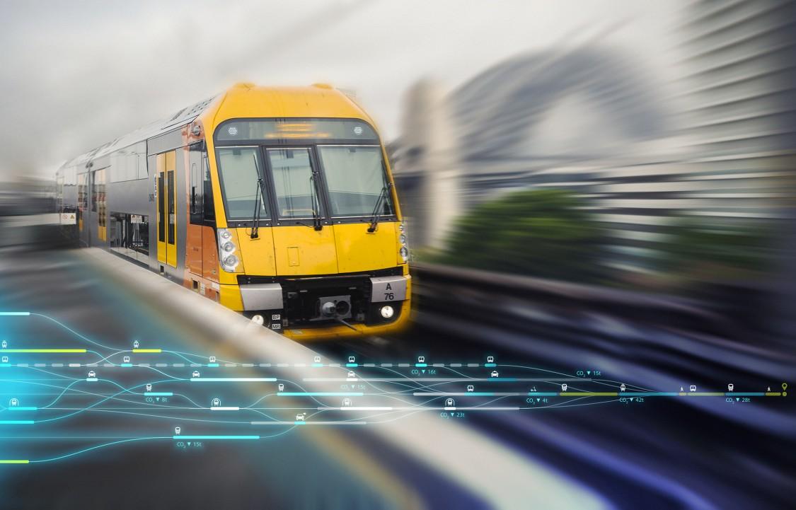 Bahn in Sidney