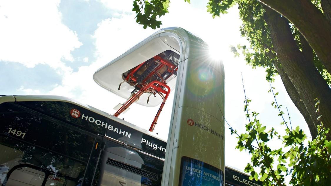 Dobíjecí infrastruktura pro provoz elektrobusů