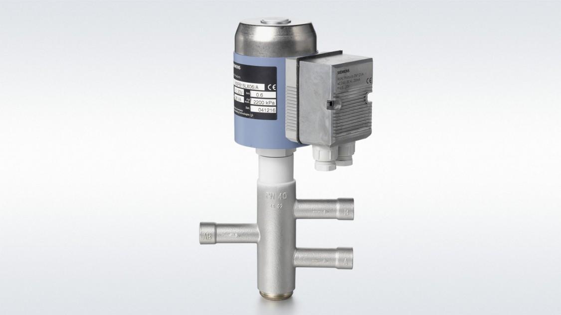 Refrigerant valves