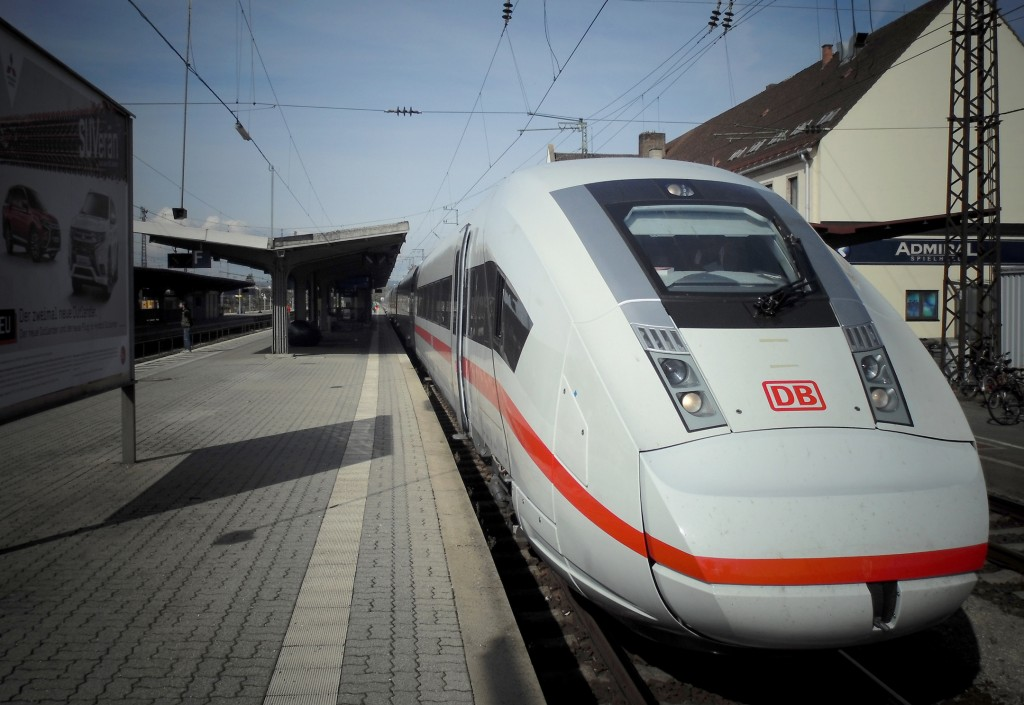 ICE 4 underway in public rail network for first time
