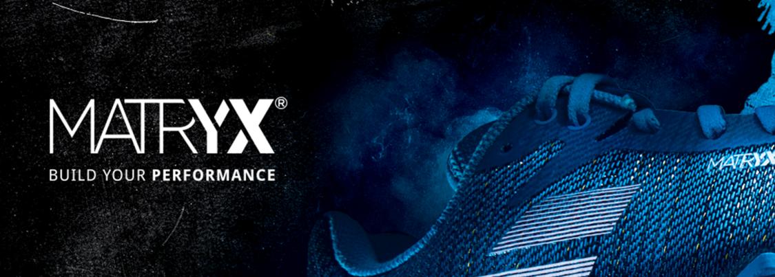MATRYX® est la partie textile qui compose la chaussure, innovant et breveté, au service des marques de sport
