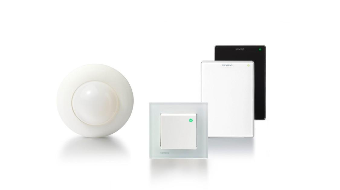 Desigo Room Automation, détecteurs et détecteurs de pièces, détecteurs de présence, détecteurs de lumière