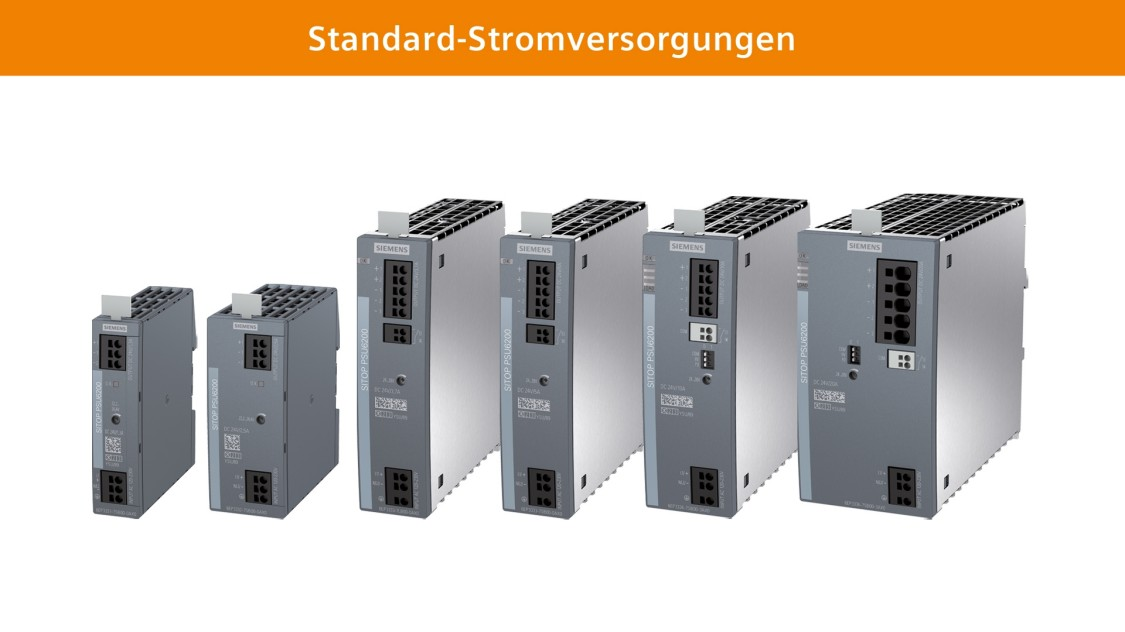 SITOP Standard-Schaltnetzgeräte