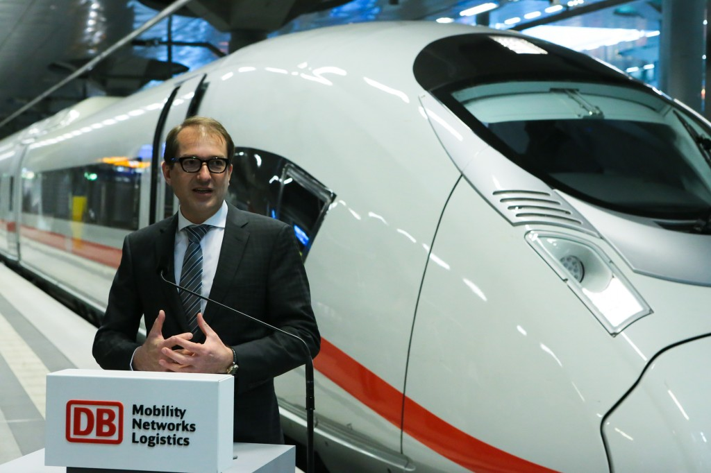 Eight new ICE 3 trains delivered to Deutsche Bahn
