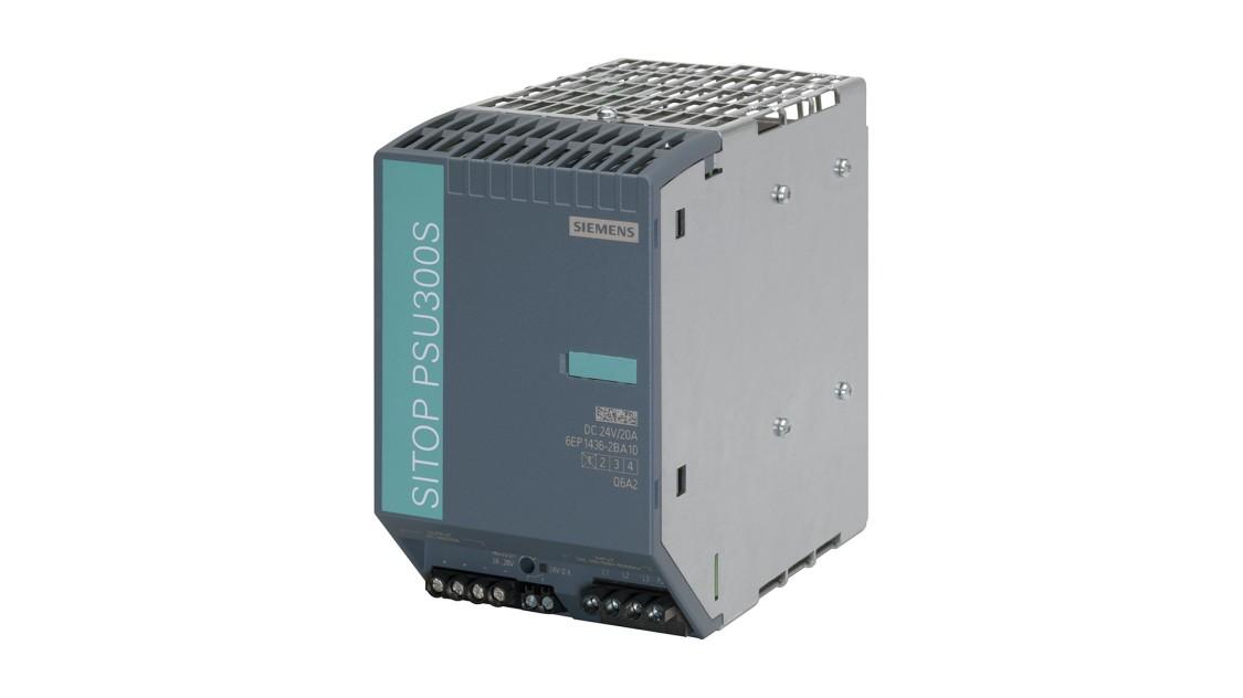 Produktbild SITOP PSU300S, 3-phasig, DC 24 V/20 A