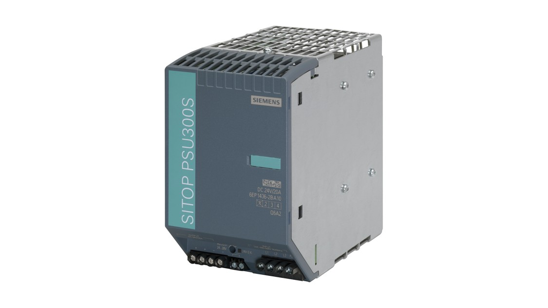 Product image SITOP PSU300S, 3-phase, DC 24 V/20 A
