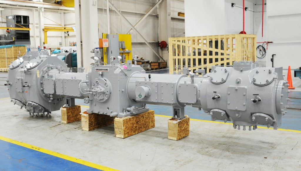 Siemens to supply compression and power generation equipment for Balikpapan Refinery in Indonesia (this photo: HSE compressor)