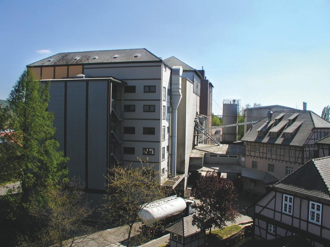 Siemens Gebäudetechnik in der Rubin Mühle