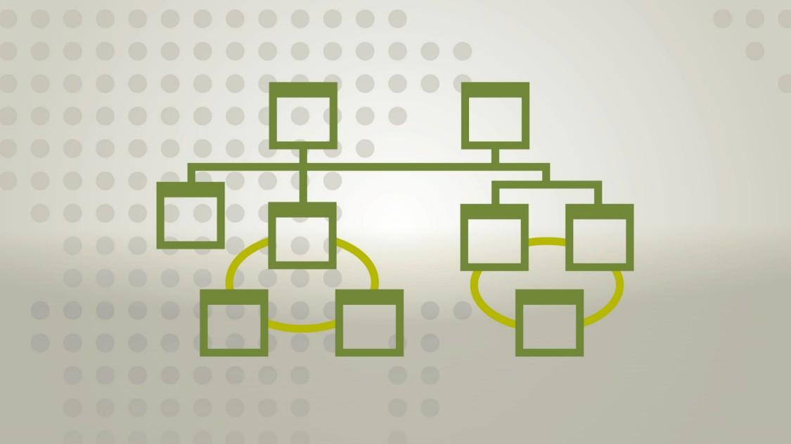 Industrielle Netzwerkstruktur