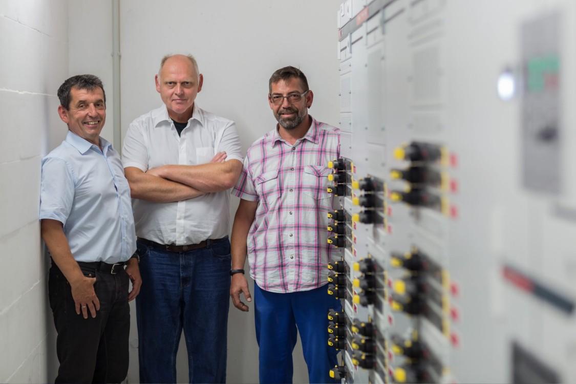 Hans Kresz, Dirk Steding and Michael Schneider