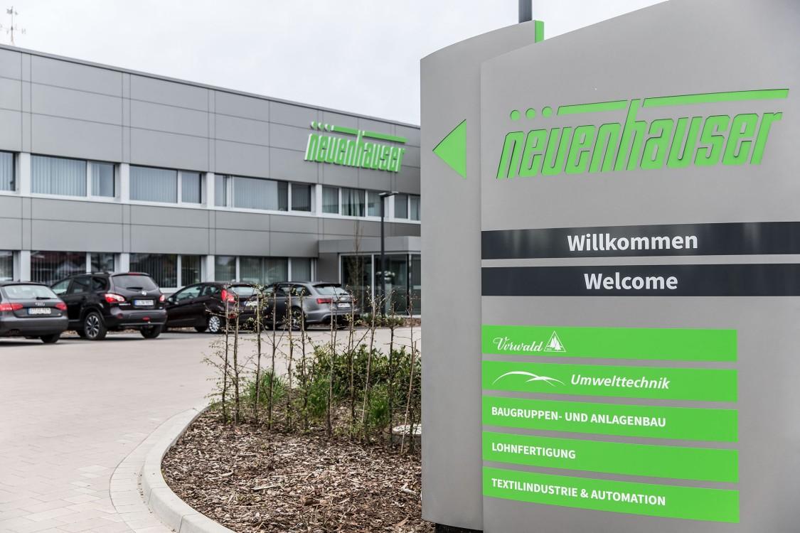 Bild Neuenhauser Firmenzentrale