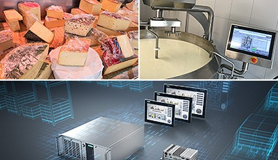 The cheese vat from Giovanelli GmbH automated with Siemens components offers integrated recipe management and supports remote access via PC or mobile phone. For the automation of the cheese vat, Siemens used a combination of high-performance hardware and software components.