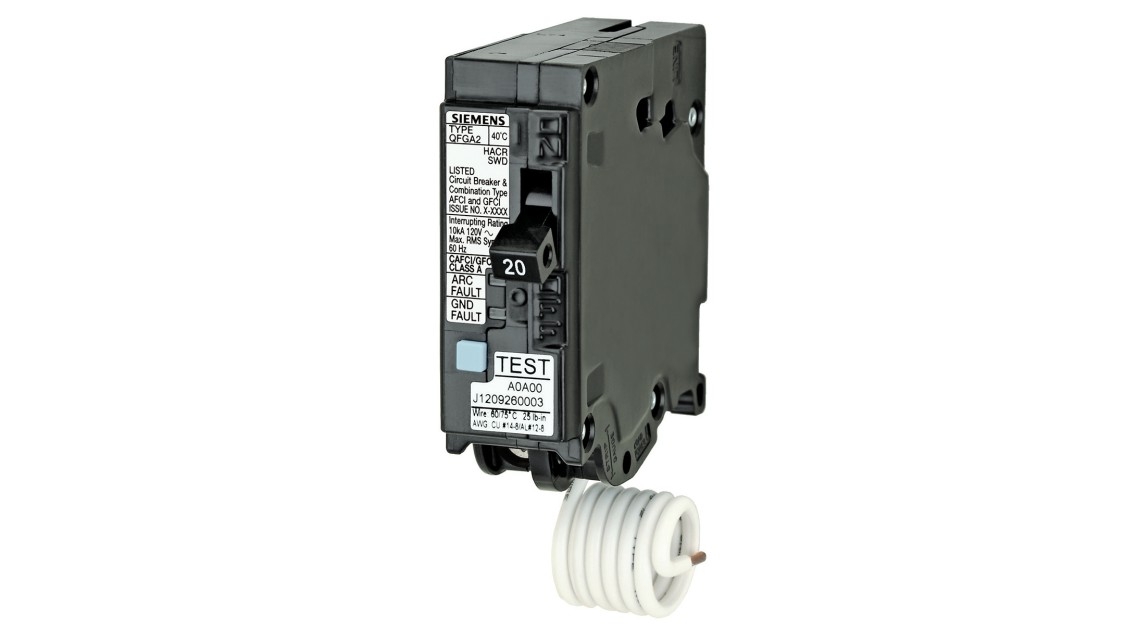 Residential Dual-Function Circuit Breakers (AFCI & GFCI)