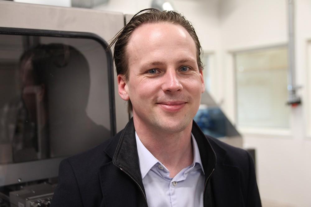 Hans Kimblad, teknisk chef på Digital Metal.