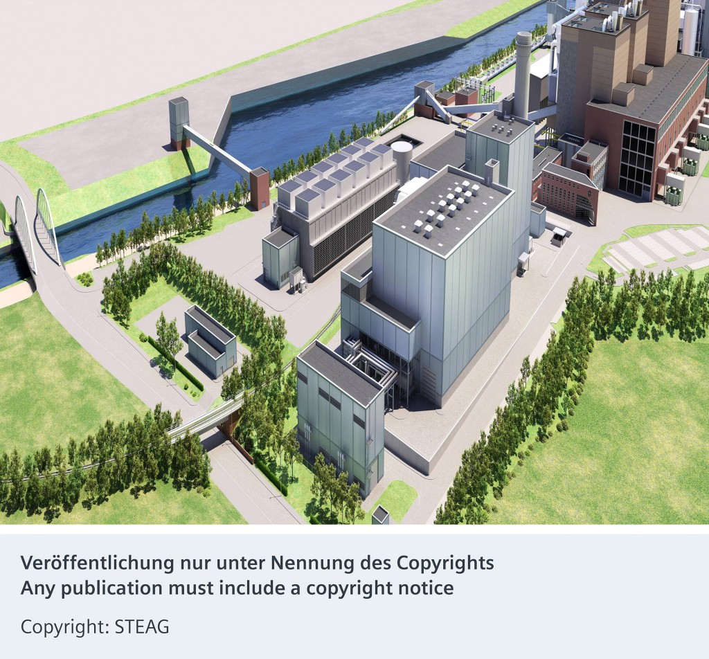 New combined cycle power plant in Herne