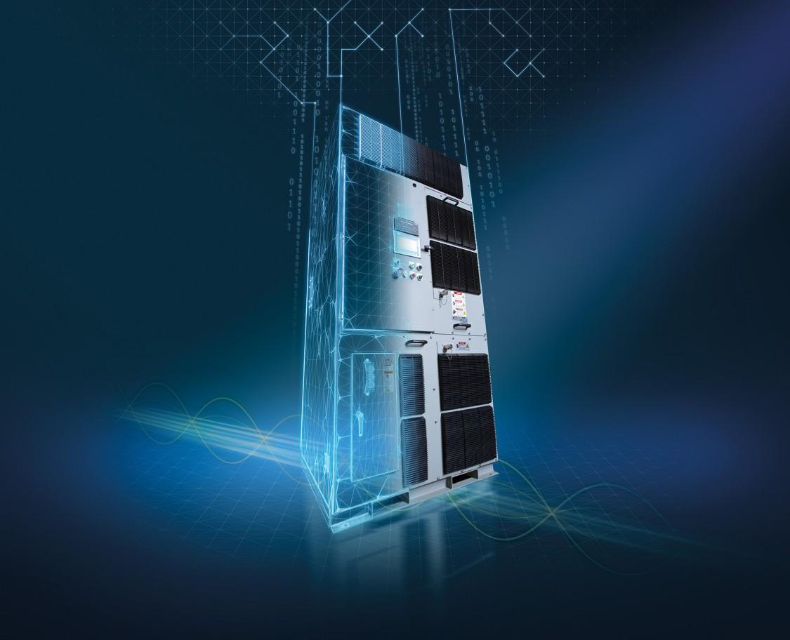 Perfect Harmony GH180 pode ser conectado à plataforma digital do SIDRIVE IQ utilizando o módulo de conexão SINAMICS CONNECT 500