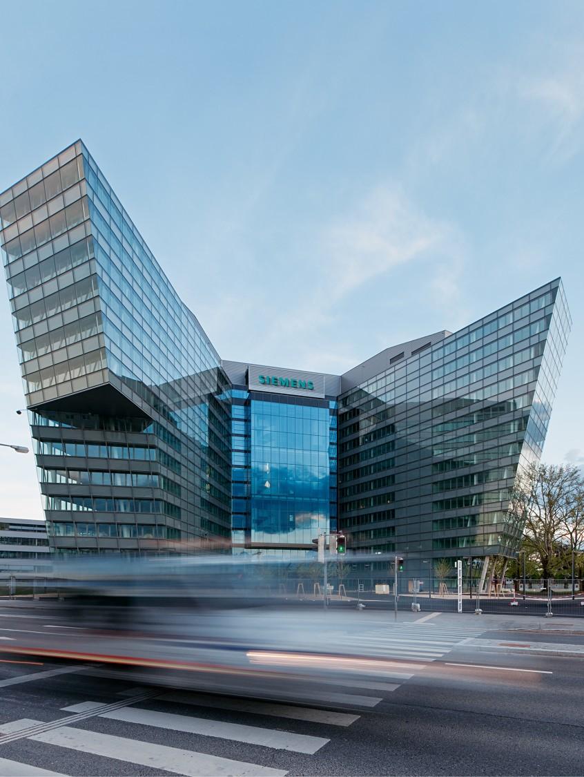 La Siemens City à Vienne