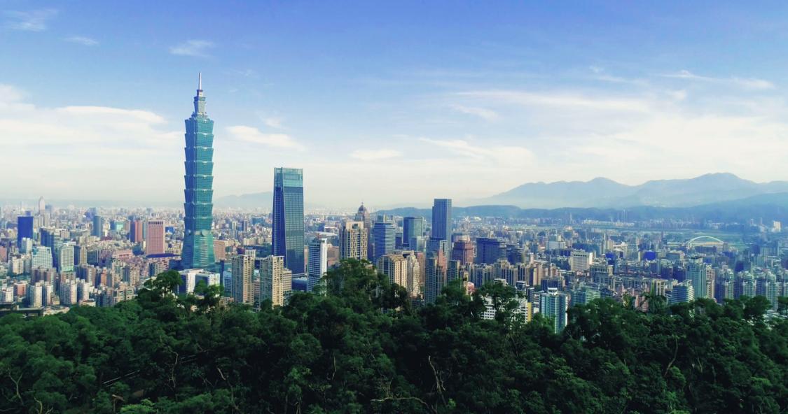 Panorama Tajwanu